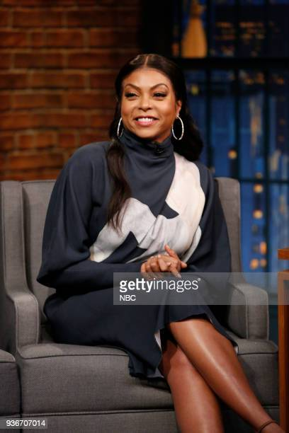 Actress Taraji P Henson during an interview on March 22 2018
