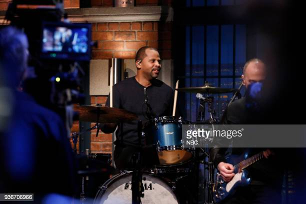 Lil'John Roberts sits in with the 8G Band on March 22 2018