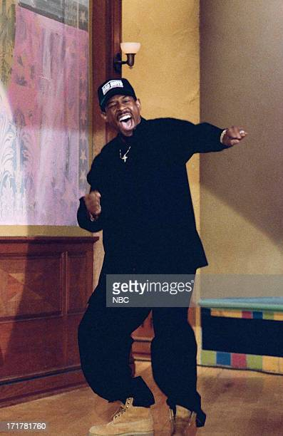 Actor Martin Lawrence arrives on April 14 1995