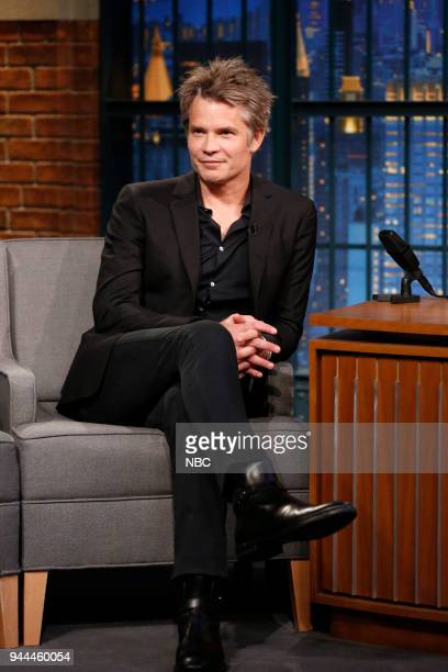 Actor Timothy Olyphant during an interview on April 10 2018