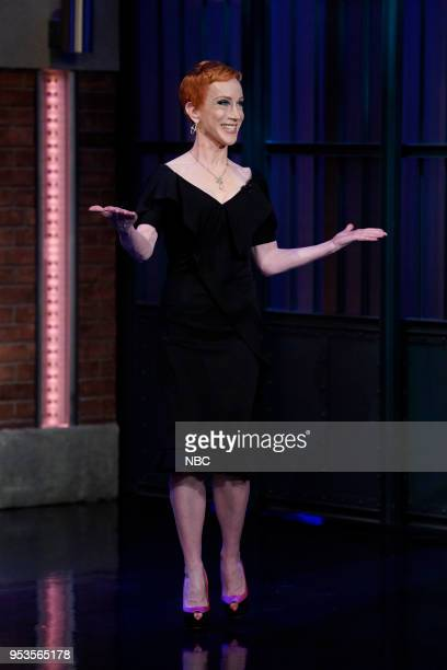 Comedian Kathy Griffin arrives on May 1 2018