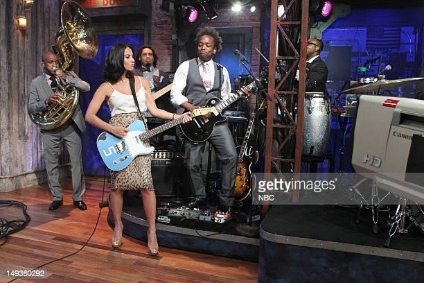 The Roots' Damen Tuba Gooding Jr Bryson Olivia Munn The Roots' Kirk Captain Kirk Douglas