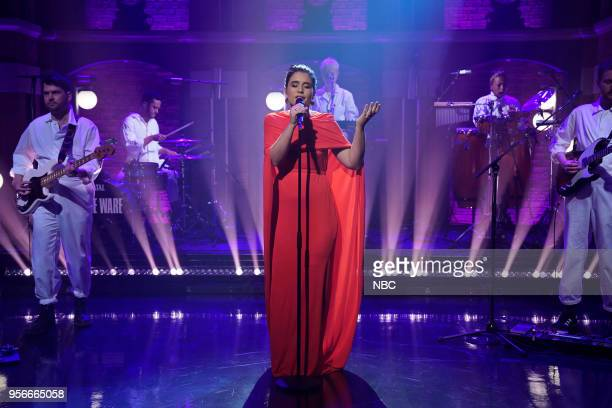 Musical guest Jessie Ware performs on May 9 2018