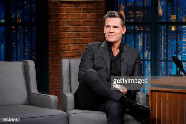 Actor Josh Brolin during an interview on May 16 2018