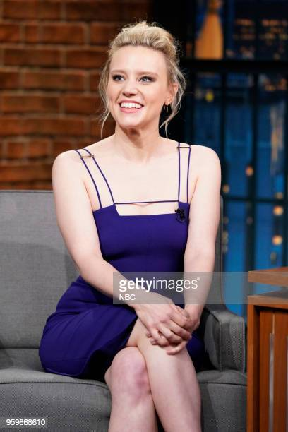 Actress Kate McKinnon during an interview on May 16 2018