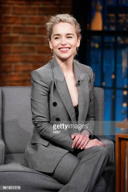 Actress Emilia Clarke on May 22 2018