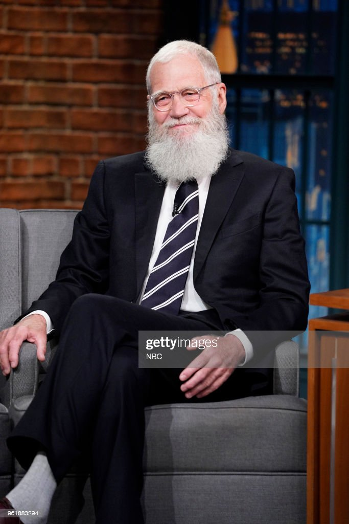 "NBC's ""Late Night With Seth Meyers"" With Guests David Letterman, AURORA"