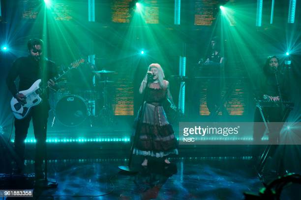Musical guest Aurora performs on May 23 2018