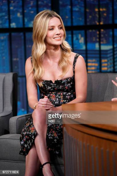 Actress Annabelle Wallis during an interview on June 12 2018