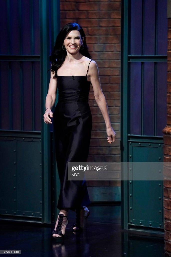 Actress Julianna Margulies arrives on June 12, 2018 --