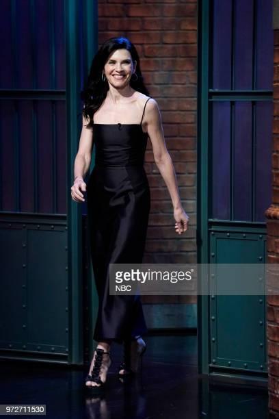 Actress Julianna Margulies arrives on June 12 2018