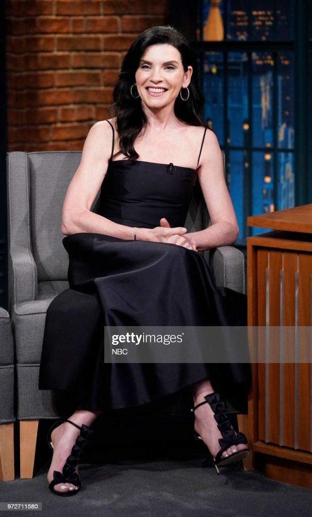 Actress Julianna Margulies during an interview on June 12, 2018 --