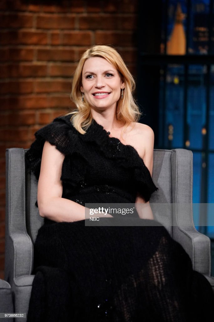 Actress Claire Danes during an interview on June 13, 2018 --