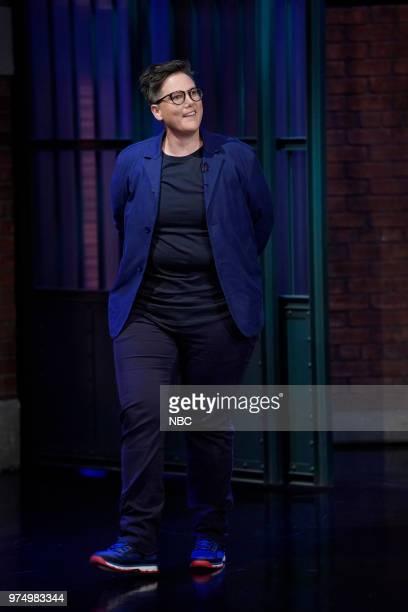Comedian Hannah Gadsby arrives on June 14 2018