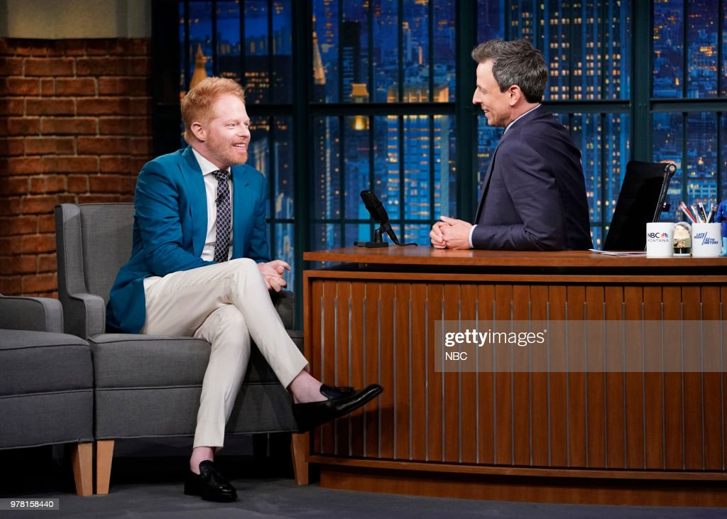 "NBC's ""Late Night With Seth Meyers"" With Guests Jesse Tyler Ferguson, Louie Anderson, Cod War Kids"