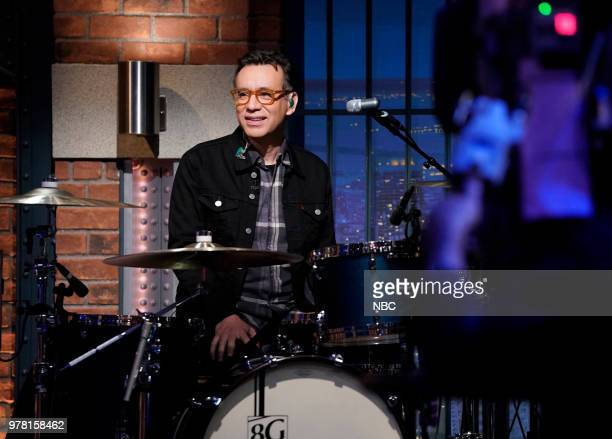 Fred Armisen performs with The 8G Band on June 18 2018