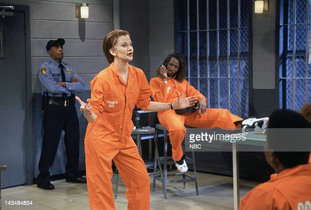 LIVE Episode 7 Air Date Pictured Laura Kightlinger as Bobby Blake Ellen Cleghorne as Tammy during the LockUp skit on December 3 1994