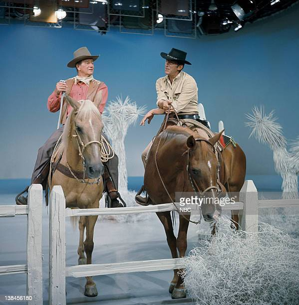 SHOW Episode 7 Aired Pictured John Wayne Dean Martin