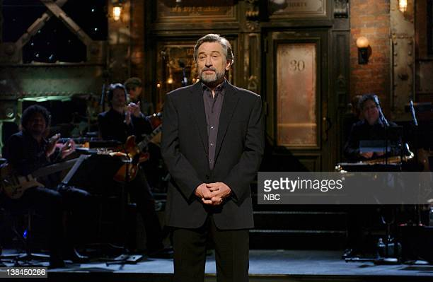 LIVE Episode 7 Aired Pictured Robert De Niro during the monologue on December 7 2002