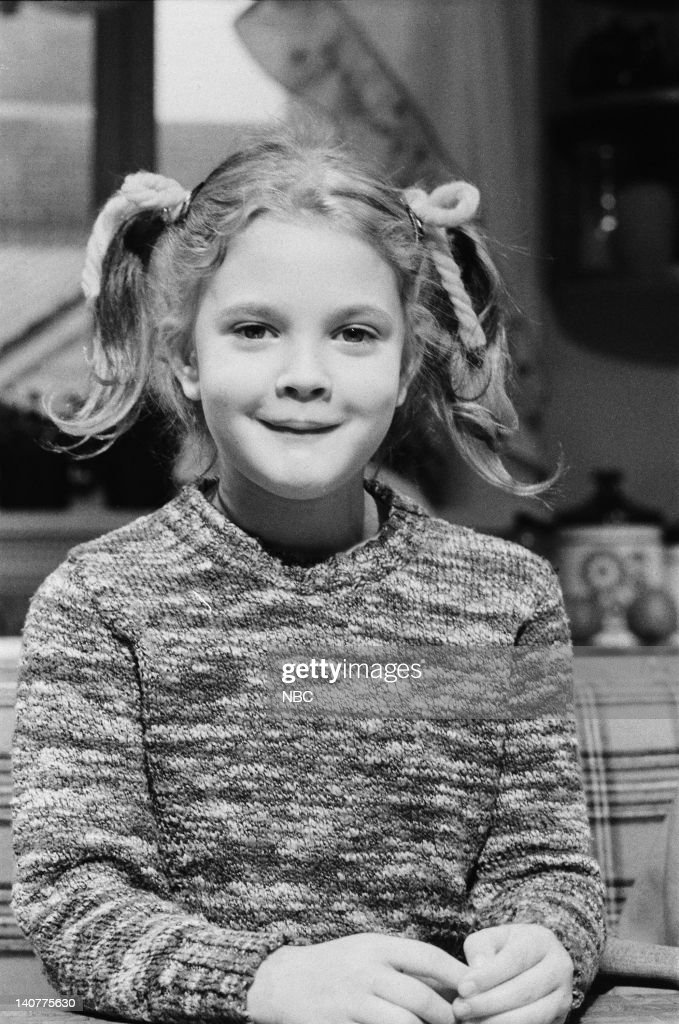 Drew Barrymore as Gertie during the 'E.T.' skit on November 20, 1982 -- Photo by: Al Levine/NBC/NBCU Photo Bank