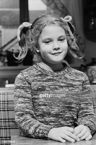 Drew Barrymore as Gertie during the 'ET' skit on November 20 1982 Photo by Al Levine/NBC/NBCU Photo Bank