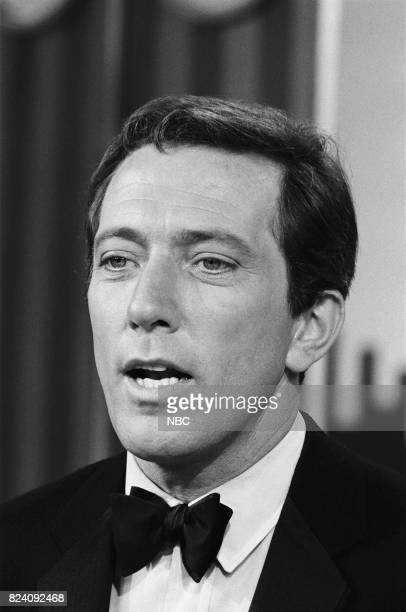 Host Andy Williams