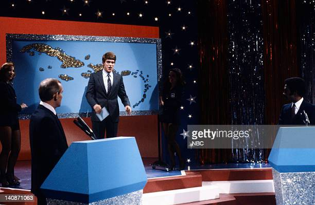 Joe Piscopo as Ted Koppel during the 'Crisi Game '83' skit on December 1983