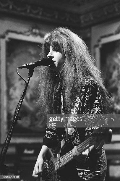 Musical guest The Bangles perform on December 3 1988