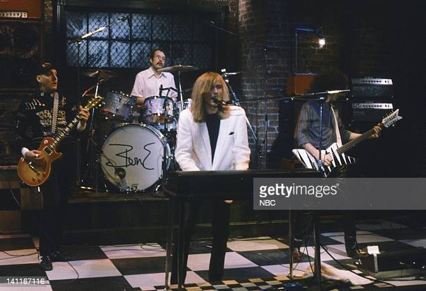 Musical guests Cheap Trick perform on January 17 1981 Photo by NBC/NBCU Photo Bank