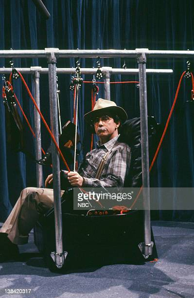 Phil Hartman as Wilford Brimley during the 'Reclino Love Lounge' skit on December 3 1988