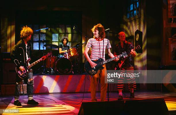 Tommy Stinson Chris Mars Paul Westerberg Bob Stinson Musical guest The Replacements on January 18 1986