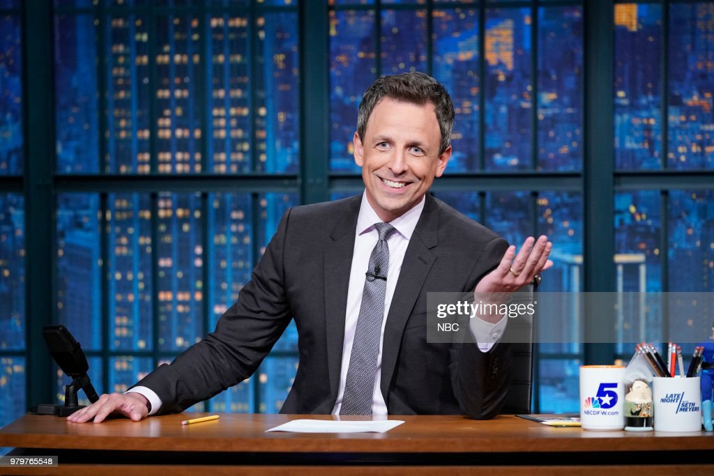 "NBC's ""Late Night With Seth Meyers"" With Guests Mike Myers, Alison Brie, Kacey Musgraves"