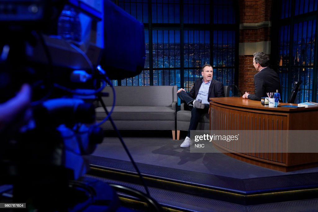 "NBC's ""Late Night With Seth Meyers"" With Guests Colin Quinn, Sen. Tammy Baldwin, Missy Robbins"
