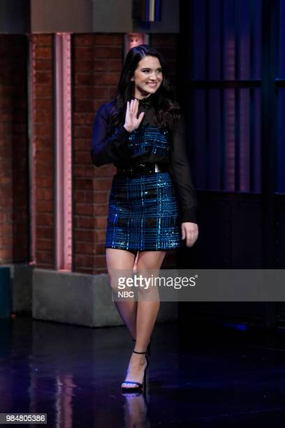 Actress Katie Stevens arrives on June 26 2018