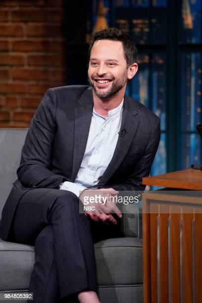 Comedian Nick Kroll during an interview on June 26 2018