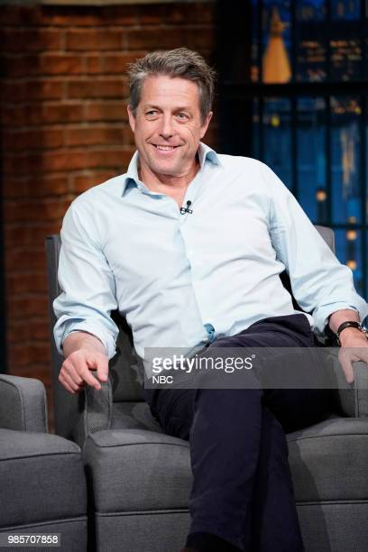 Actor Hugh Grant on June 27 2018