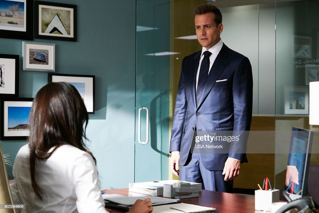 Gabriel Macht as Harvey Specter --