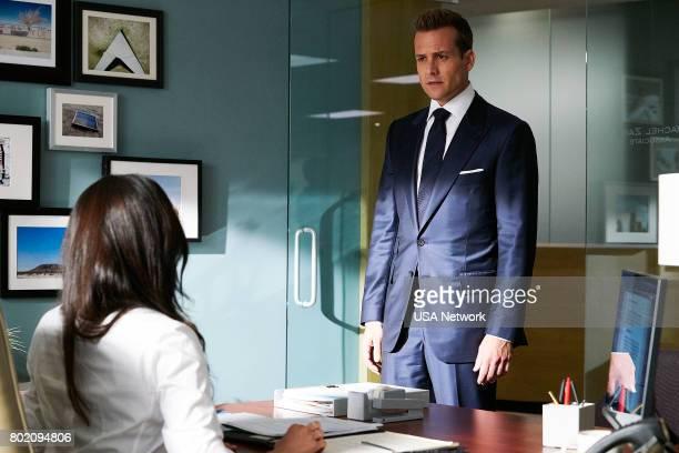 Episode 705 -- Pictured: Gabriel Macht as Harvey Specter --