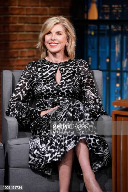 Actress Christine Baranski on July 18 2018