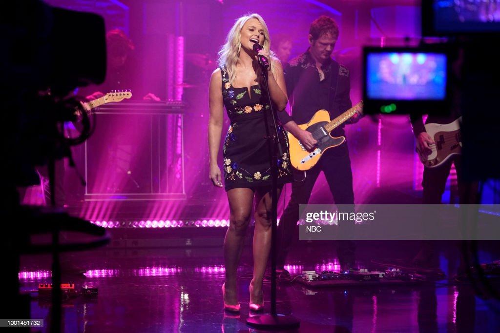 "NBC'S ""Late Night With Seth Meyers"" With Guests Christine Baranski, Niecy Nash Miranda, Lambert"