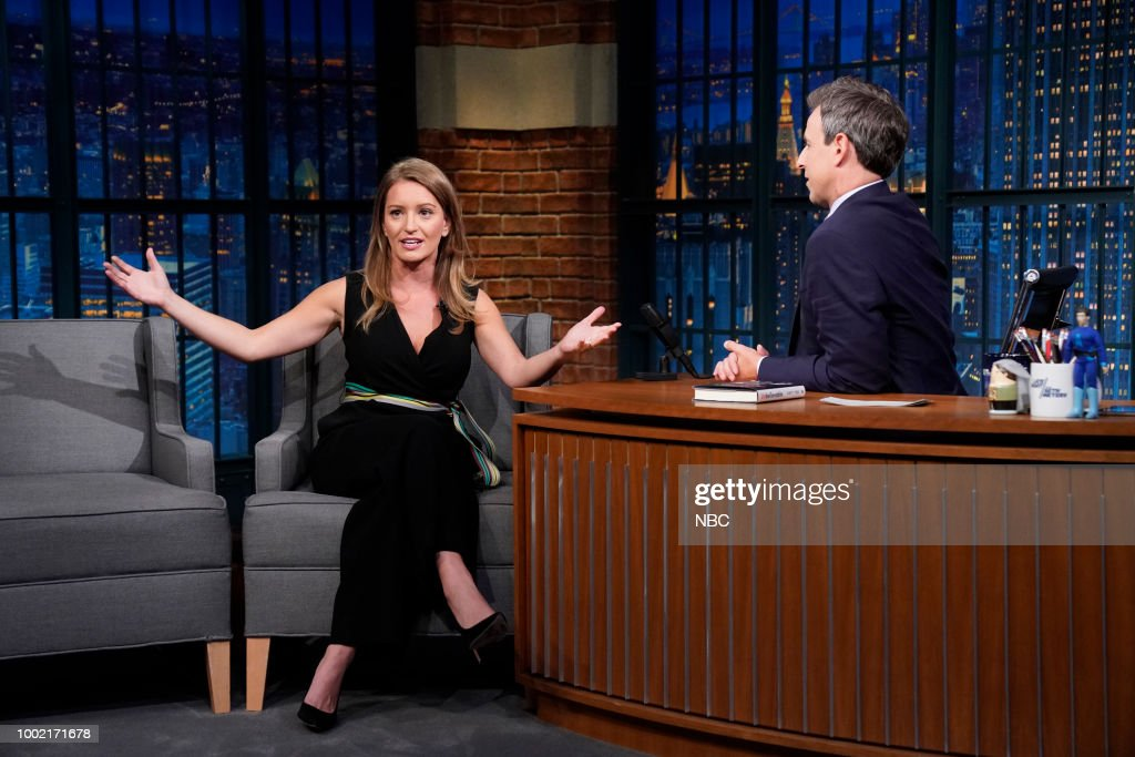 "NBC's ""Late Night With Seth Meyers"" With Guests Amanda Seyfried, Katy Tur, Brandi Carlile"
