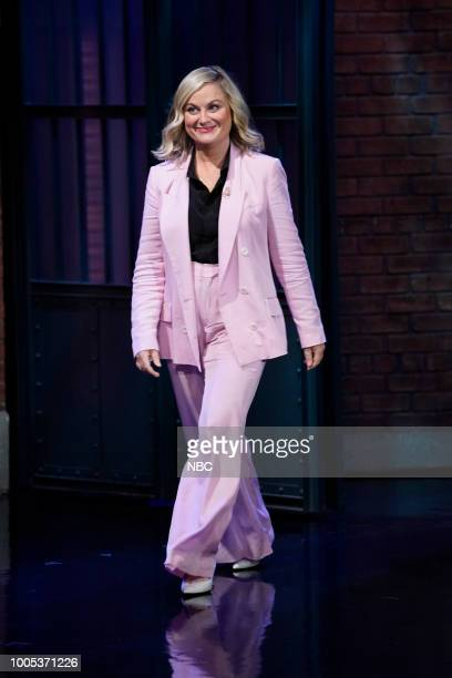 Actress Amy Poehler arrives on July 25 2018