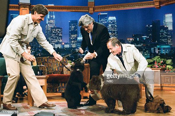 Unknown Host Jay Leno Zoologist Jim Fowler on June 13 1995