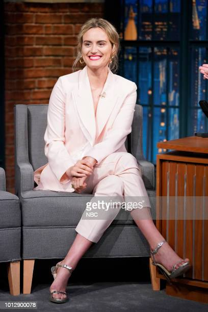 Actress Taylor Schilling on August 7 2018