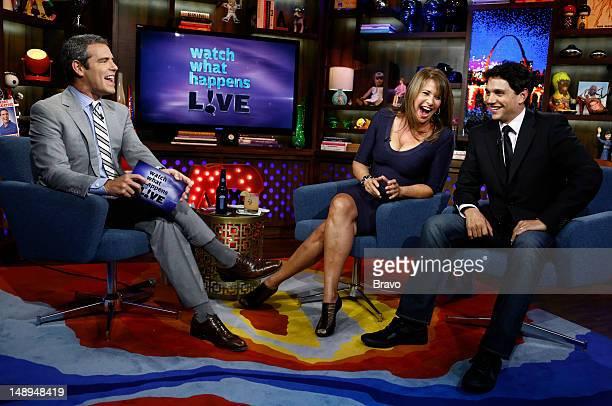 574ee71335e7 Andy Cohen, Lorraine Bracco, Ralph Macchio -- News Photo   Getty Images
