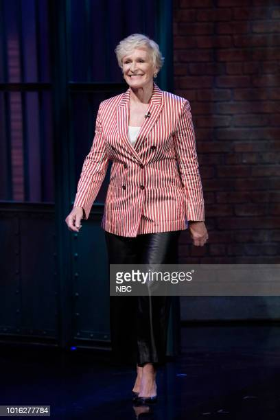 Actress Glenn Close arrives on August 13 2018