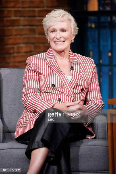 Actress Glenn Close on August 13 2018