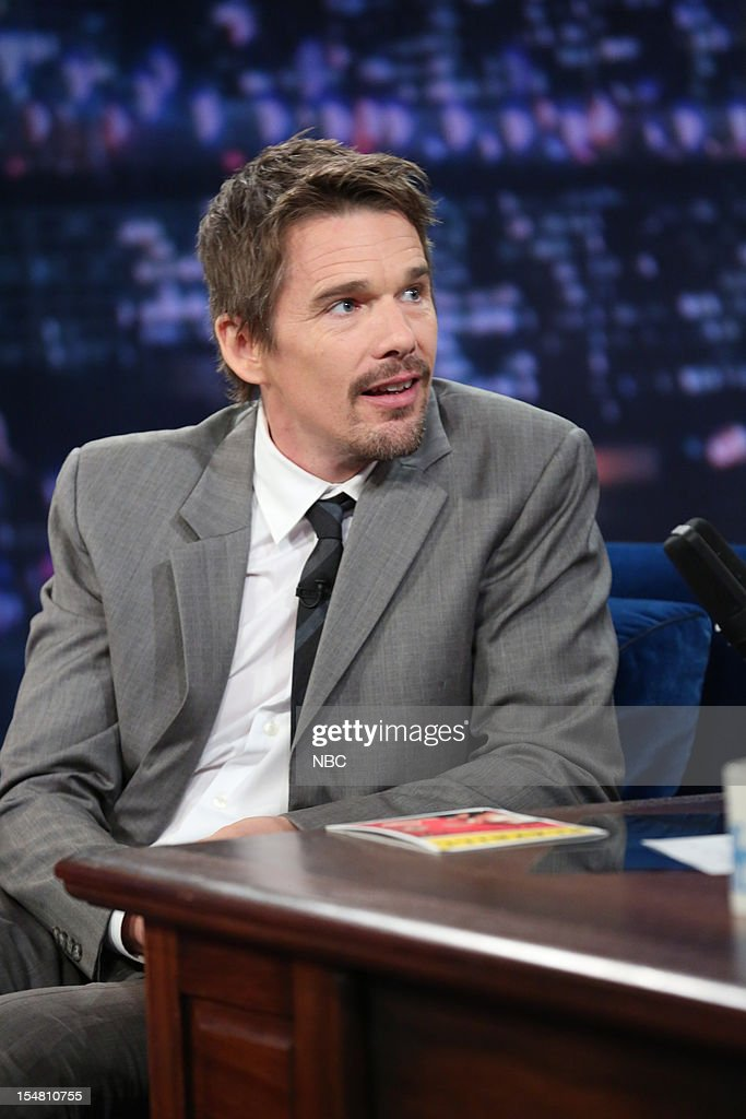 Ethan Hawke during an interview on October 26, 2012 --
