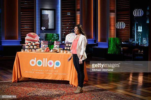 TANK 'Episode 729' An immigrant entrepreneur from Honolulu Hawaii cuts her own hair in front of the Sharks to demonstrate her products an...