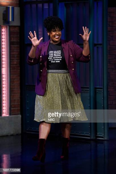 Actress Natasha Rothwell arrives on September 11 2018